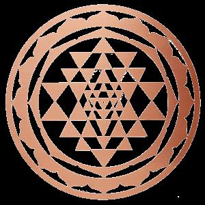 Sri Yantra Pure Copper Slider image