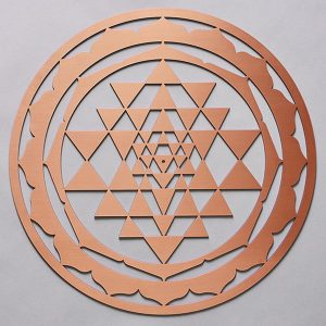 Sri Yantra Copper Resonance Plate