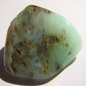 Chrysoprase Crystal used in resonance harmonics crystal paint