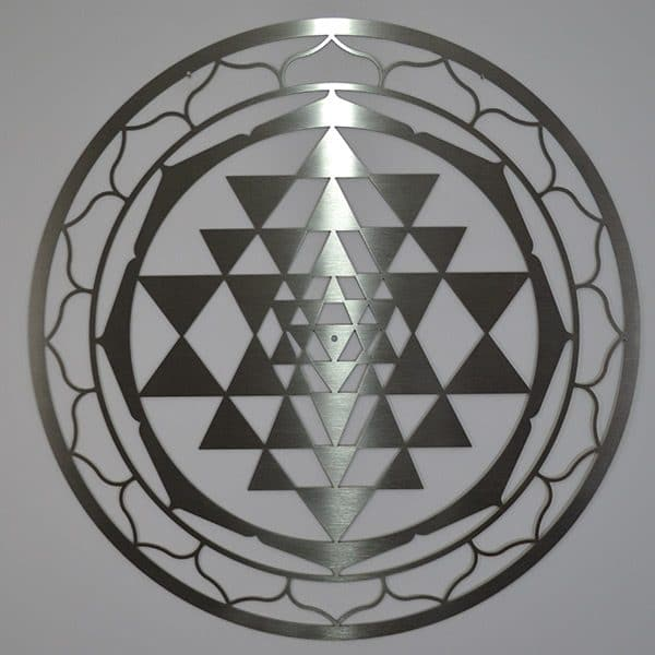 Sri Yantra Stainless Steel
